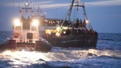 Continuano gli sbarchi di immigrati. Nella notte soccorsi in 75 nel Canale di