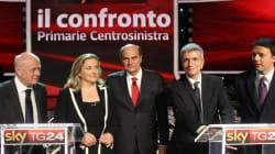 Confronto tv in stile X Factor tra i candidati alla primarie del Pd. Vip e politici tra il