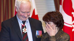 Klein's Wife Tears Up At Order of Canada