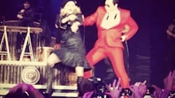 Madonna sur Gangnam