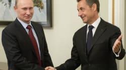 Sarkozy et Poutine échangent leurs