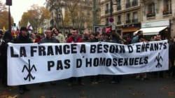9000 intégristes catholiques manifestent contre le mariage gay en France