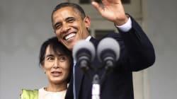Obama in visita in Birmania: