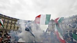 I neofascisti di CasaPound sfilano, cresce la mobilitazione contro il corteo del