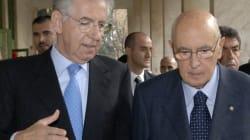 Napolitano su Monti non ricandidabile: parole che mettono in difficoltà Montezemolo e i
