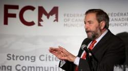Mulcair Warns Of 'Infrastructure