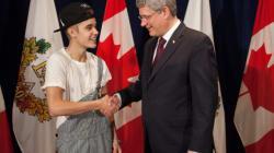 That Time Harper Gave Bieber A