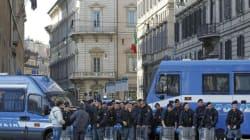 Cortei: studenti, sindacati e neofascisti. Roma