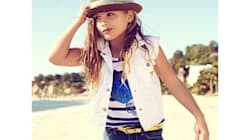 La fille d'Anna Nicole Smith pose pour Guess Kids