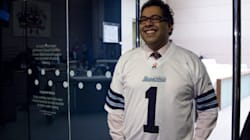 Nenshi Wonders If Argos Jersey Is Making Him