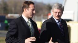 Harper May Talk Military In