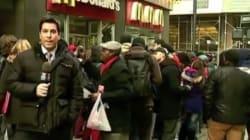Payés 5,60 euros de l'heure, les employés de McDonald's en grève à New