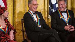 Letterman, Hoffmann e i Led Zeppellin premiati da Obama (FOTO,