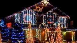 Personne n'illumine sa maison pour Noël aussi bien qu'un Nord-Américain...