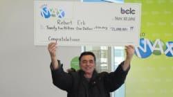 B.C. Lottery Winner Shares