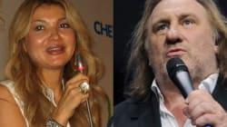 Depardieu pousse la chansonnette avec la fille du dictateur