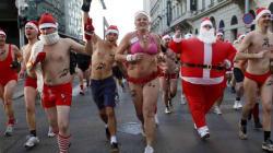 E' già Babbo Natale mania