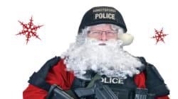 Police Christmas Card To