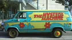Zoinks! Scooby Doo Van For