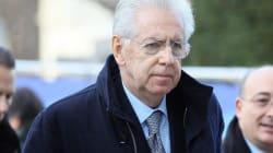 Stesso tavolo per Monti, Berlusconi e