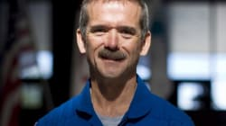 How Does Chris Hadfield Trim His Moustache In
