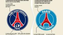Le nouveau logo du PSG se rapproche de celui de...