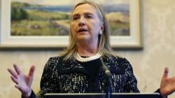 Hillary Clinton victime d'une commotion