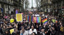 Mariage gay: entre 60.000 et 150.000 partisans ont défilé à