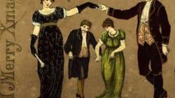 ¡Feliz 1875!: 19 felicitaciones navideñas 'vintage'