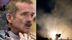 Hadfield Blasts Off For 5-Month Space