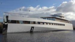 Philippe Starck fait saisir le yacht de Steve Jobs à cause de factures