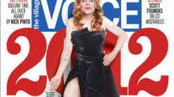 Il giornalista in copertina travestito da Angelina