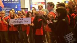 Doc Gynéco soutient les grévistes du Virgin Megastore des