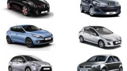 Le top 100 des voitures les plus vendues en