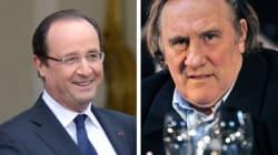 Depardieu et Hollande se sont longuement entretenus au