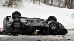 Une automobiliste perd la vie: sa voiture a chuté d'un viaduc à