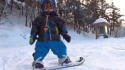 En snowboard à 18