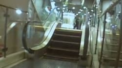 Le plus petit escalator du