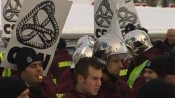CSN: la grève des ambulanciers est
