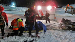 Rescued B.C. Snowshoer
