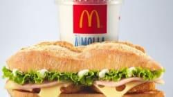 McDo lance un sandwich