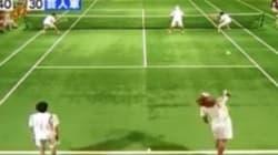 Martina Hingis affronte... 5 adversaires à la