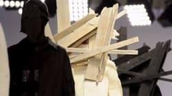 La moda è di legno, gli abiti-scultura di Craig Green (FOTO,