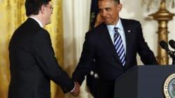 Obama ajoute sa pierre au buzz de la signature de son secrétaire au