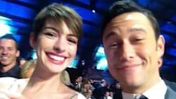 Joseph Gordon-Levitt sauve la rove de Anne Hathaway aux Critic' Choice Movie Awards