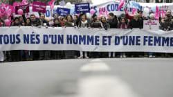 Les opposants au mariage gay manifestent à
