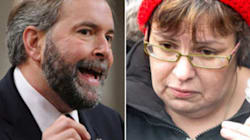Mulcair souhaite que Theresa Spence recommence à s'alimenter
