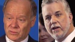 Direction du PLQ: les trois candidats courtisent les anglophones