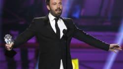 Golden Globes : le triomphe de Ben Affleck, rien pour les