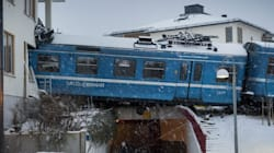 Un accident de train surréaliste à